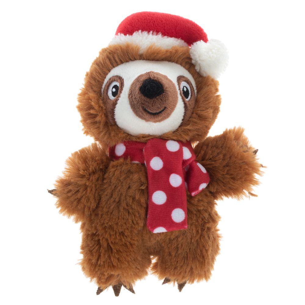 Winter Sloth hundleksak - 1 st