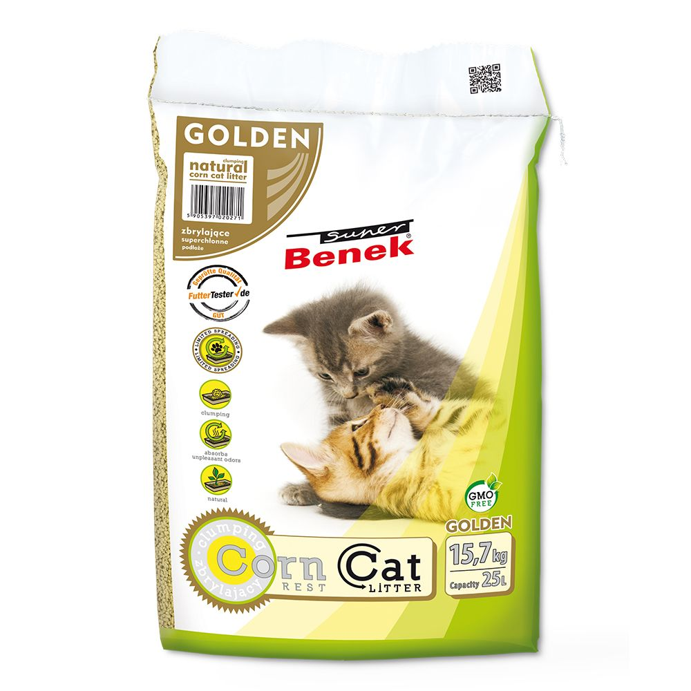 Super Benek Corn Cat Golden - 7 l (ca 4,4 kg)