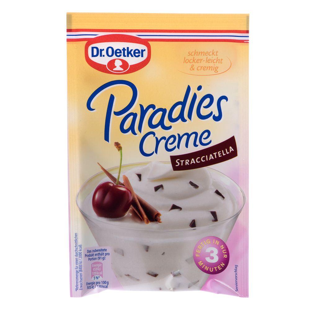 Image of Dr. Oetker Paradies Creme Stracciatella - 66 g