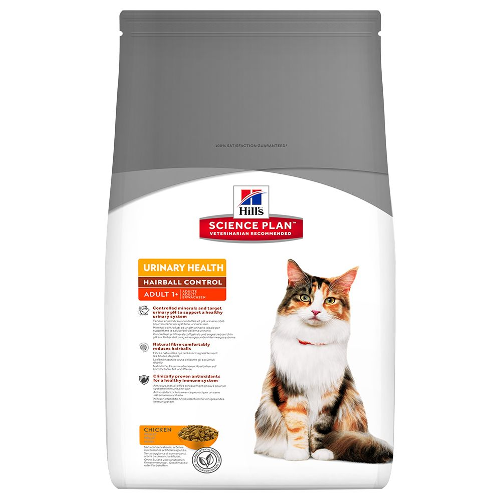 Click to view product details and reviews for Hills Science Plan Adult Urinary Hairball Control Chicken 3kg.