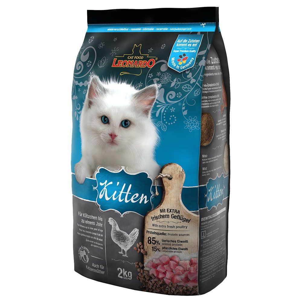 Leonardo Kitten Dry Food - 7.5kg