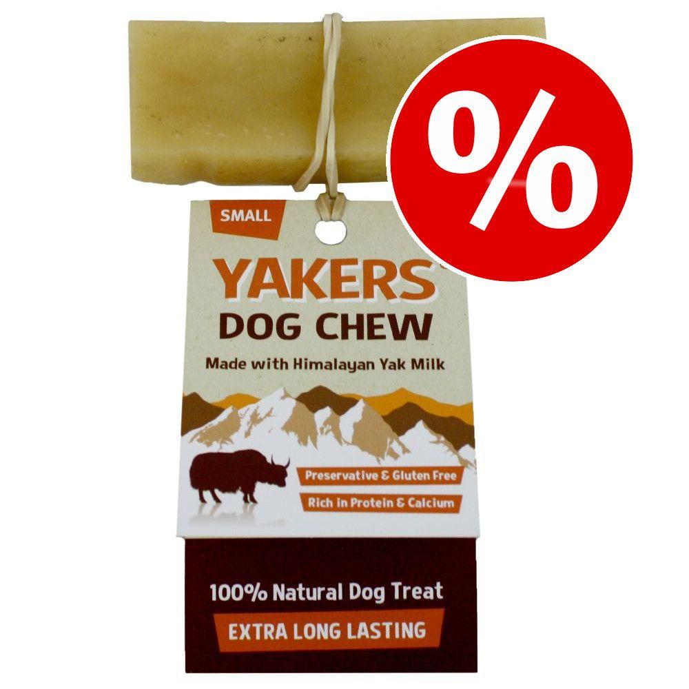 20 % rabatt på YAKERS Dog Chew / Crunchy hundgodis! Extra Large 140 g