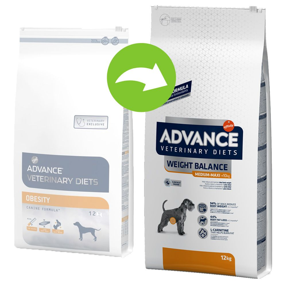 Advance Veterinary Diets Weight Balance Medium/Maxi 15 kg