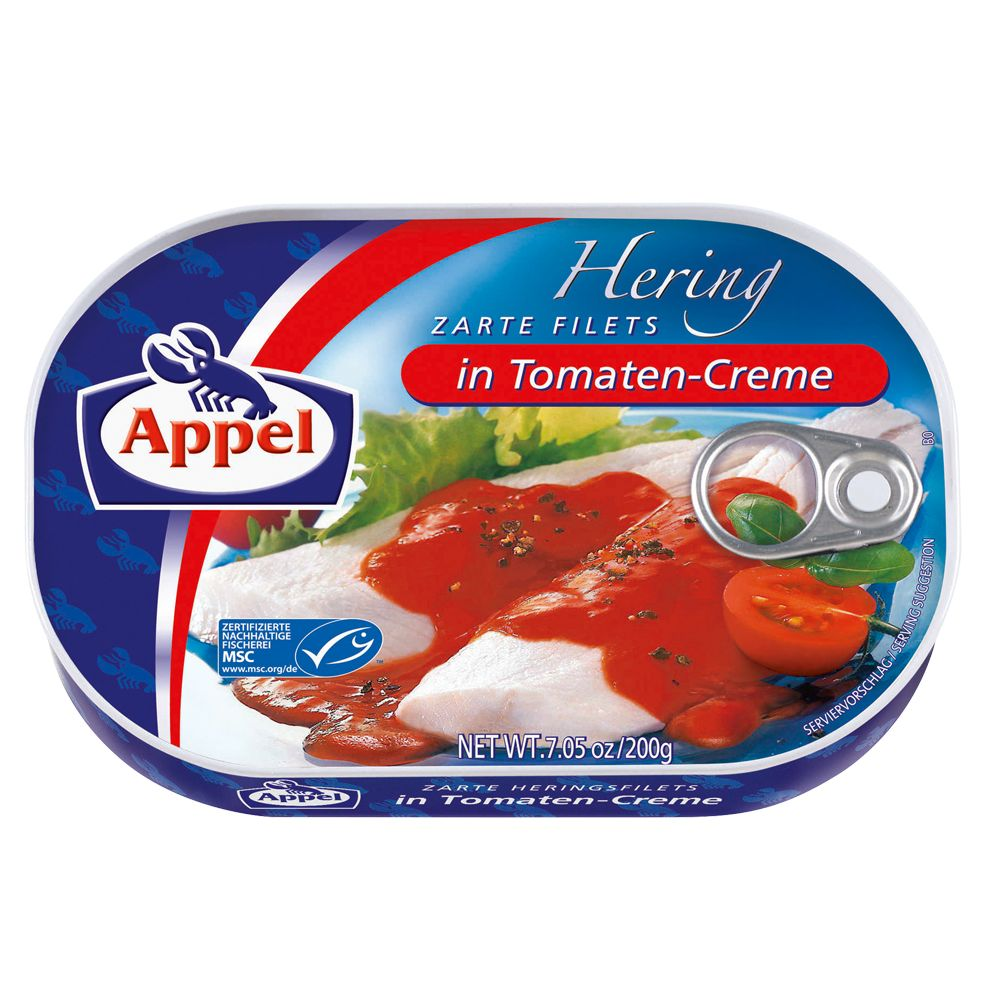Image of Appel Heringsfilet Tomatencreme - 200 g