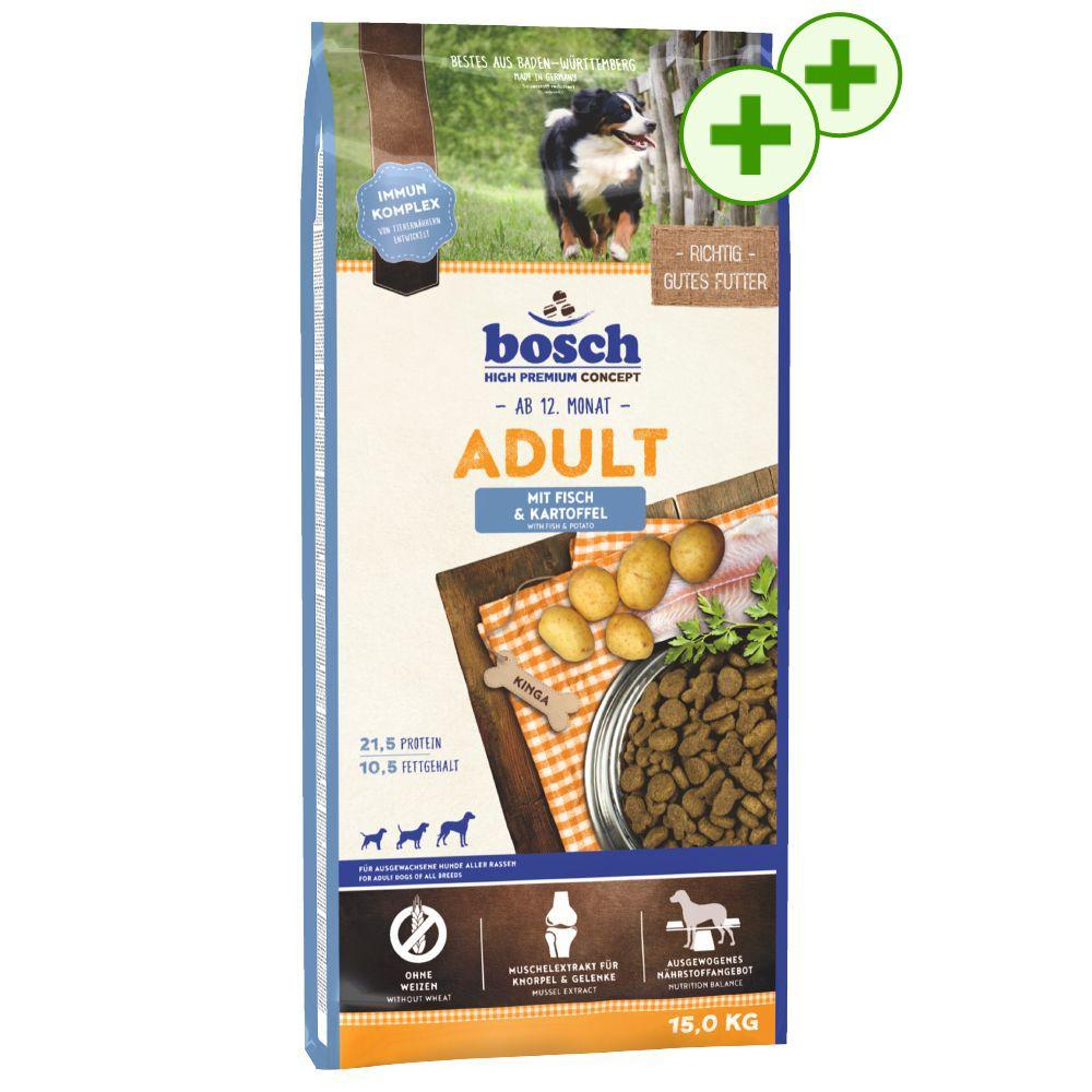 1 stor påse Bosch + dubbla bonuspoäng! - Mini Adult Lamm & ris 15 kg