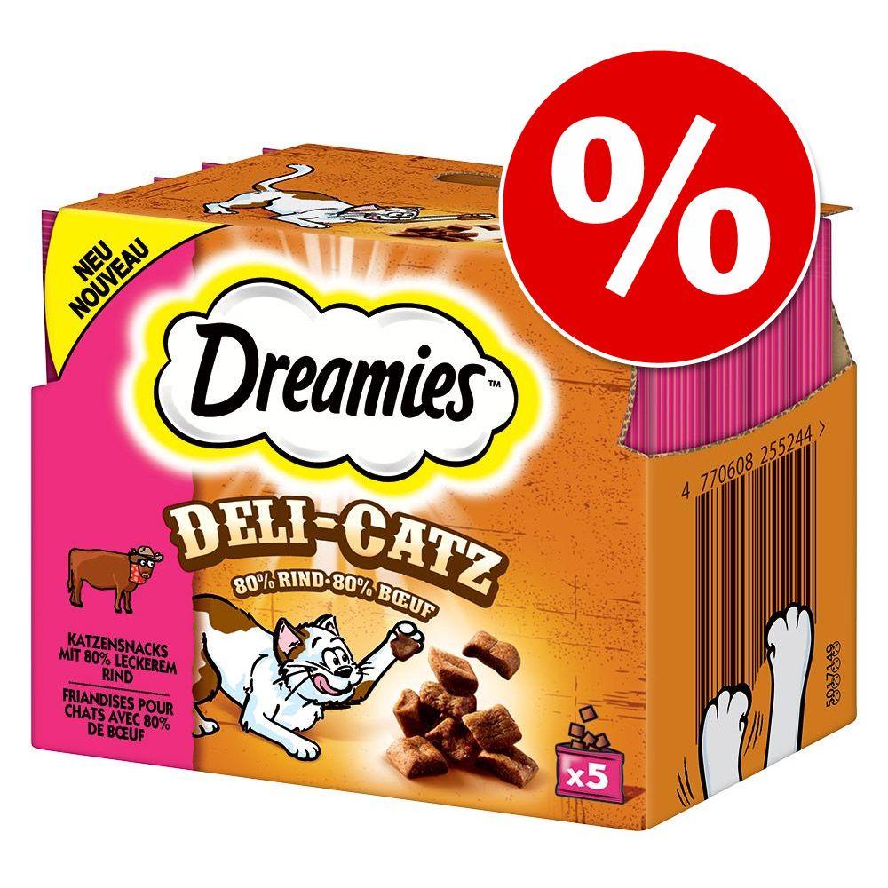 Dreamies Deli-Catz - Rind 8 x 25 g