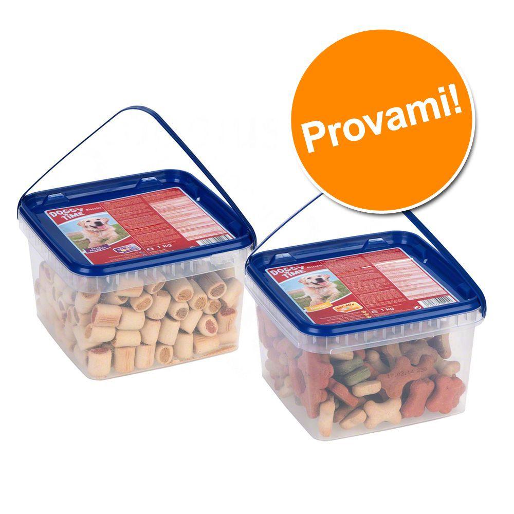 Image of Pacco prova 1 kg DogMio Mark Nuggets & 1 kg Bonies - 2 x 1 kg