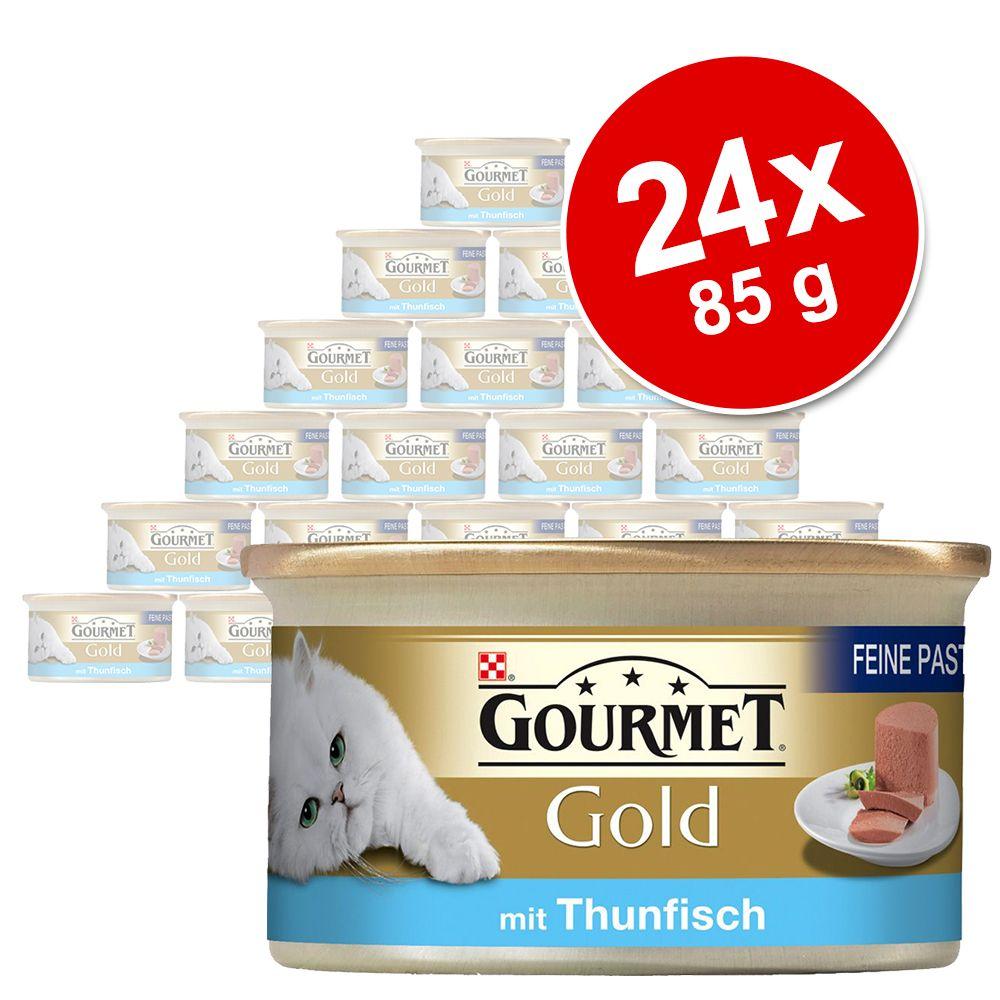 Gourmet Gold Feine Pastete 24 x 85 g - Huhn