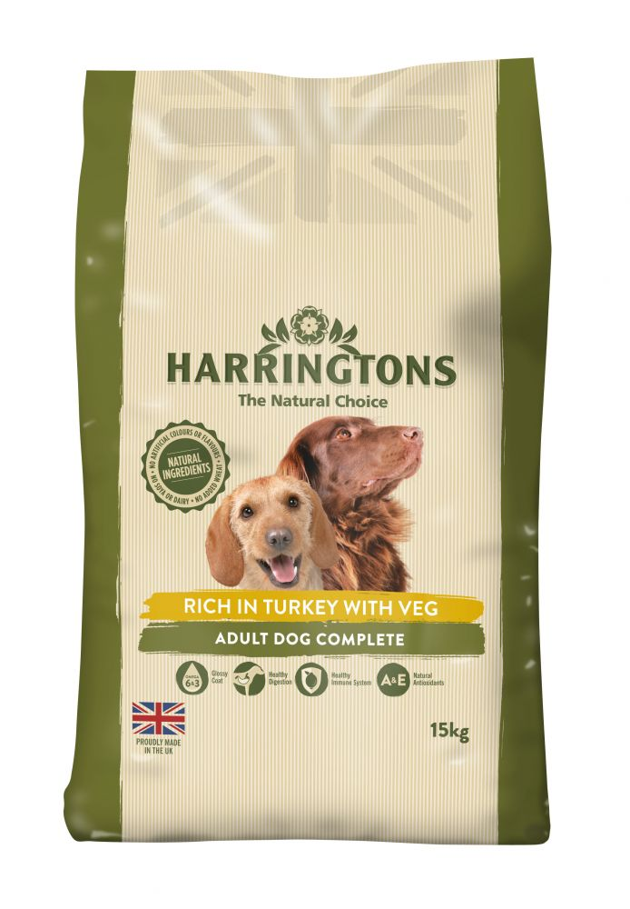 15kg Harringtons Dry Dog Food + 2kg Extra Free