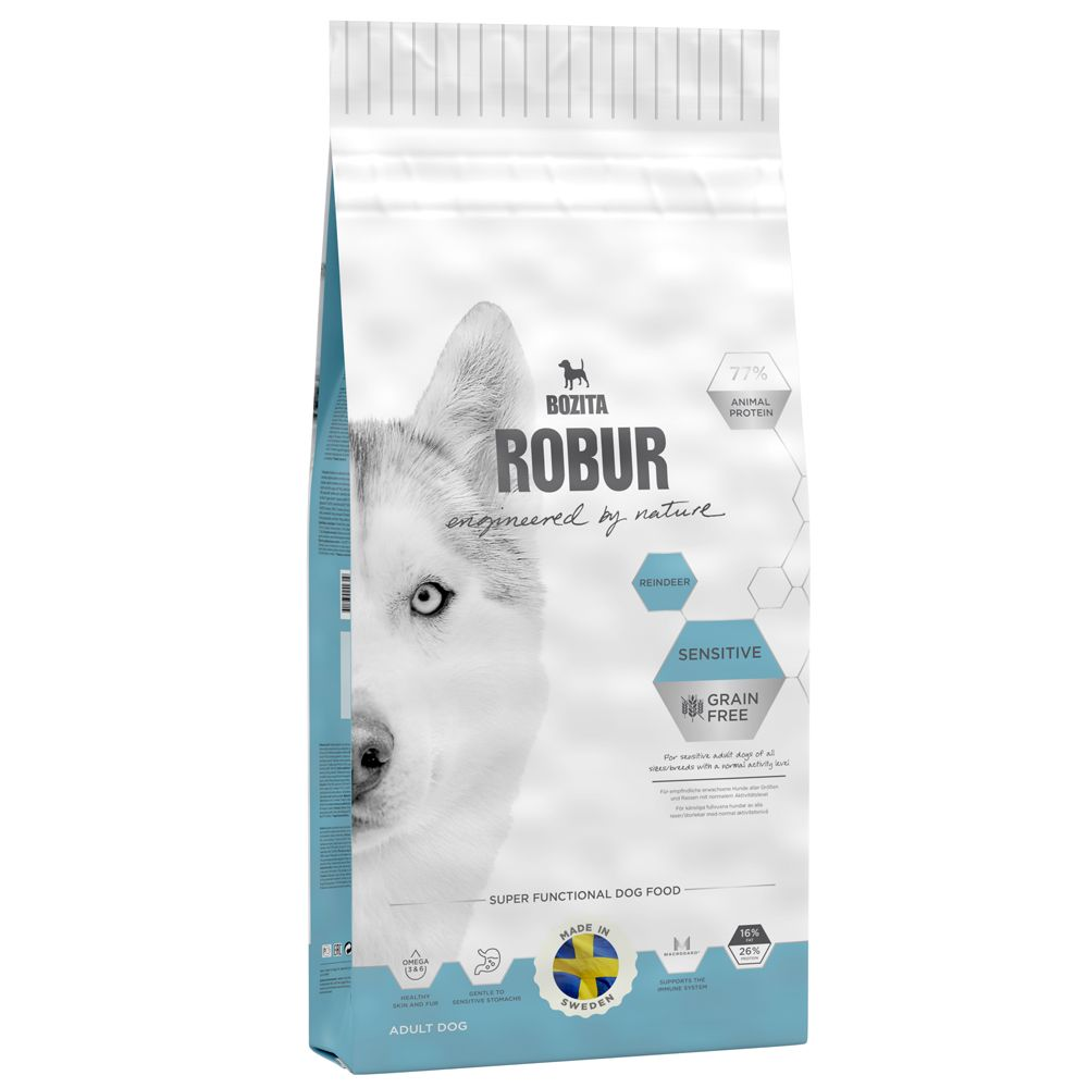 Bozita Robur Sensitive Grain Free Reindeer - 14kg