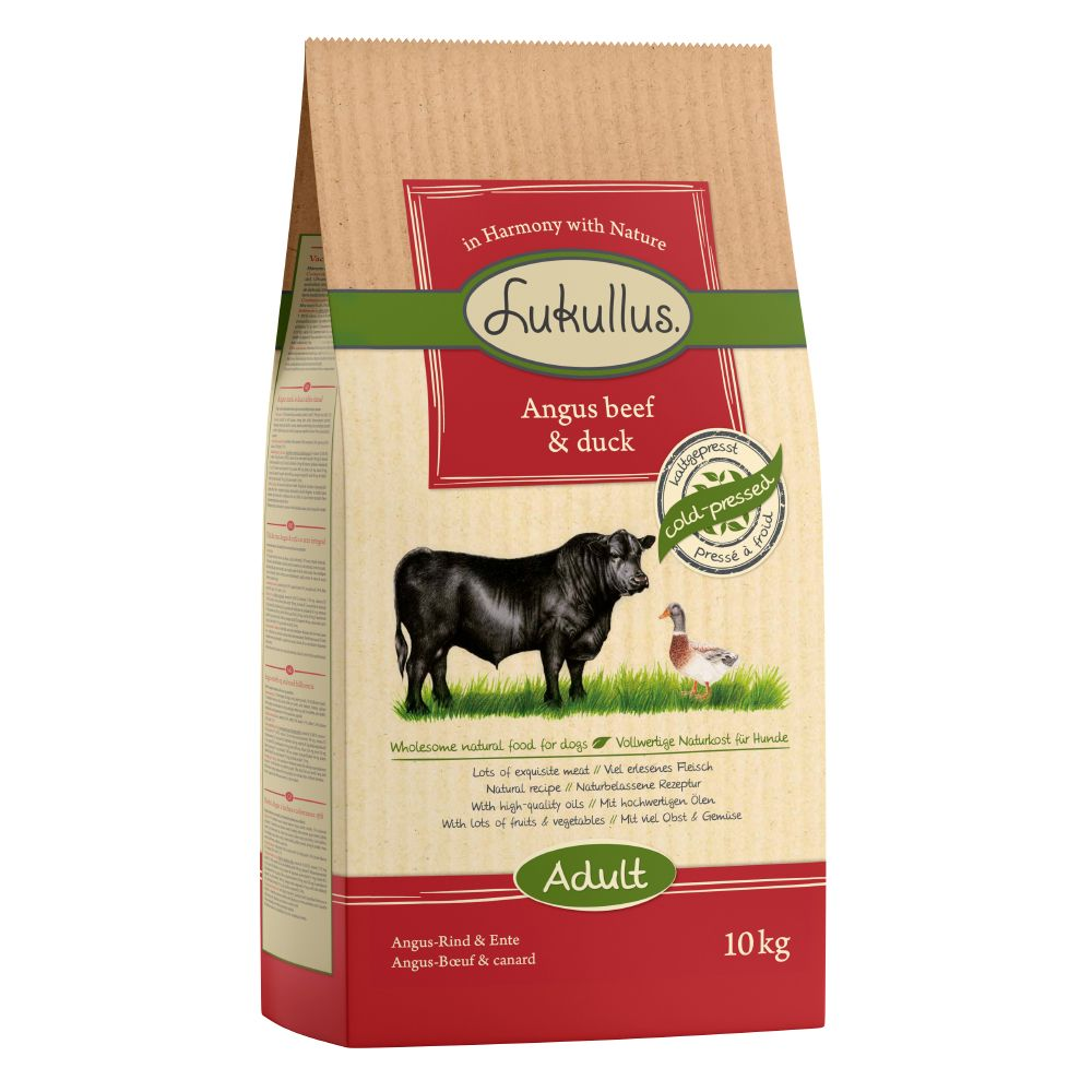 1.5kg Lukullus Cold-Pressed Dry Dog Food