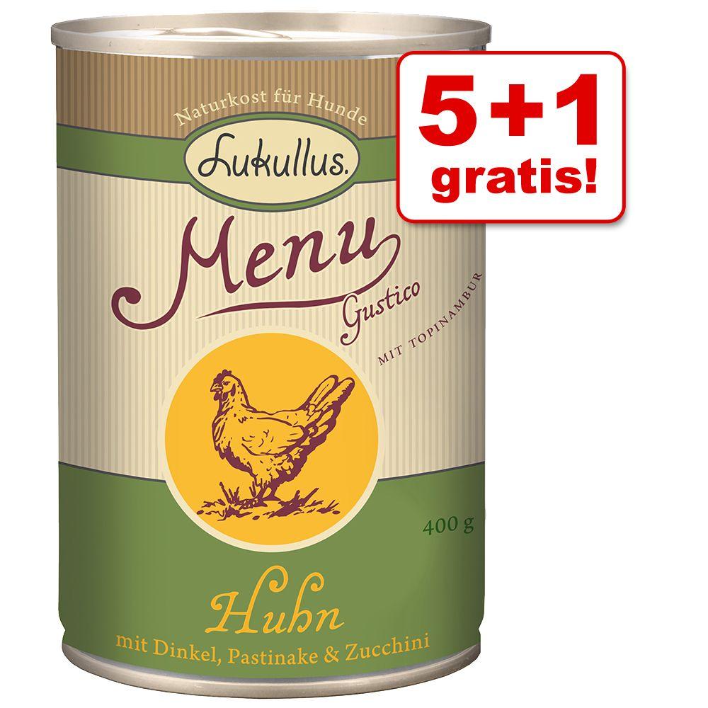 5 + 1 gratis! 6 x 400 g Lukullus Menu Gustico -...