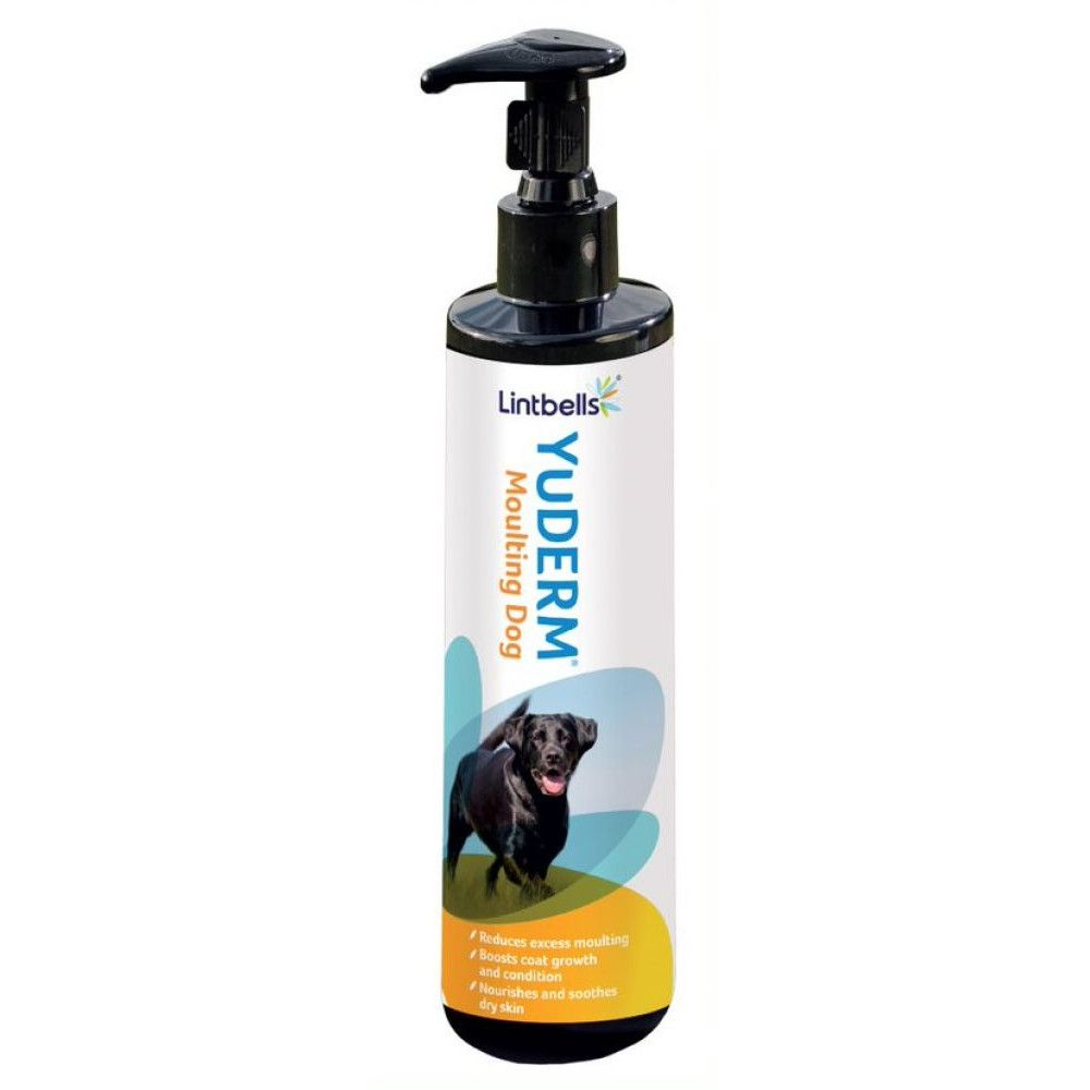 250ml YuDERM Moulting Dog Lintbells Supplement