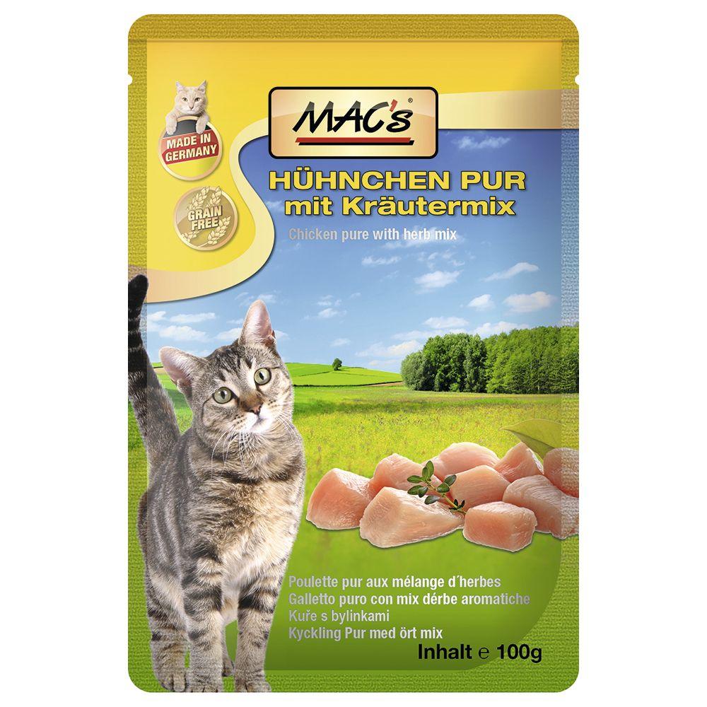 MAC´s Cat w saszetkach, 12 x 100 g - Kurczak