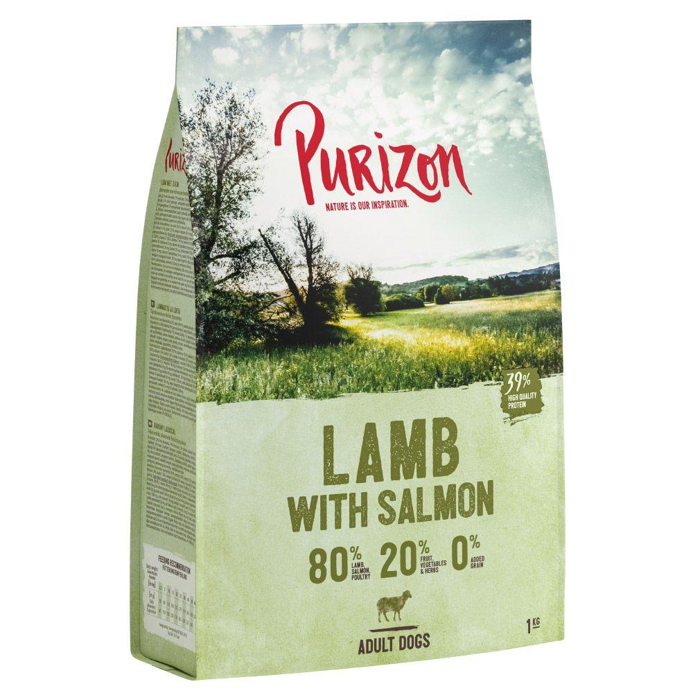 Purizon Lamm mit Lachs Adult - getreidefrei - Sparpaket: 2 x 12 kg