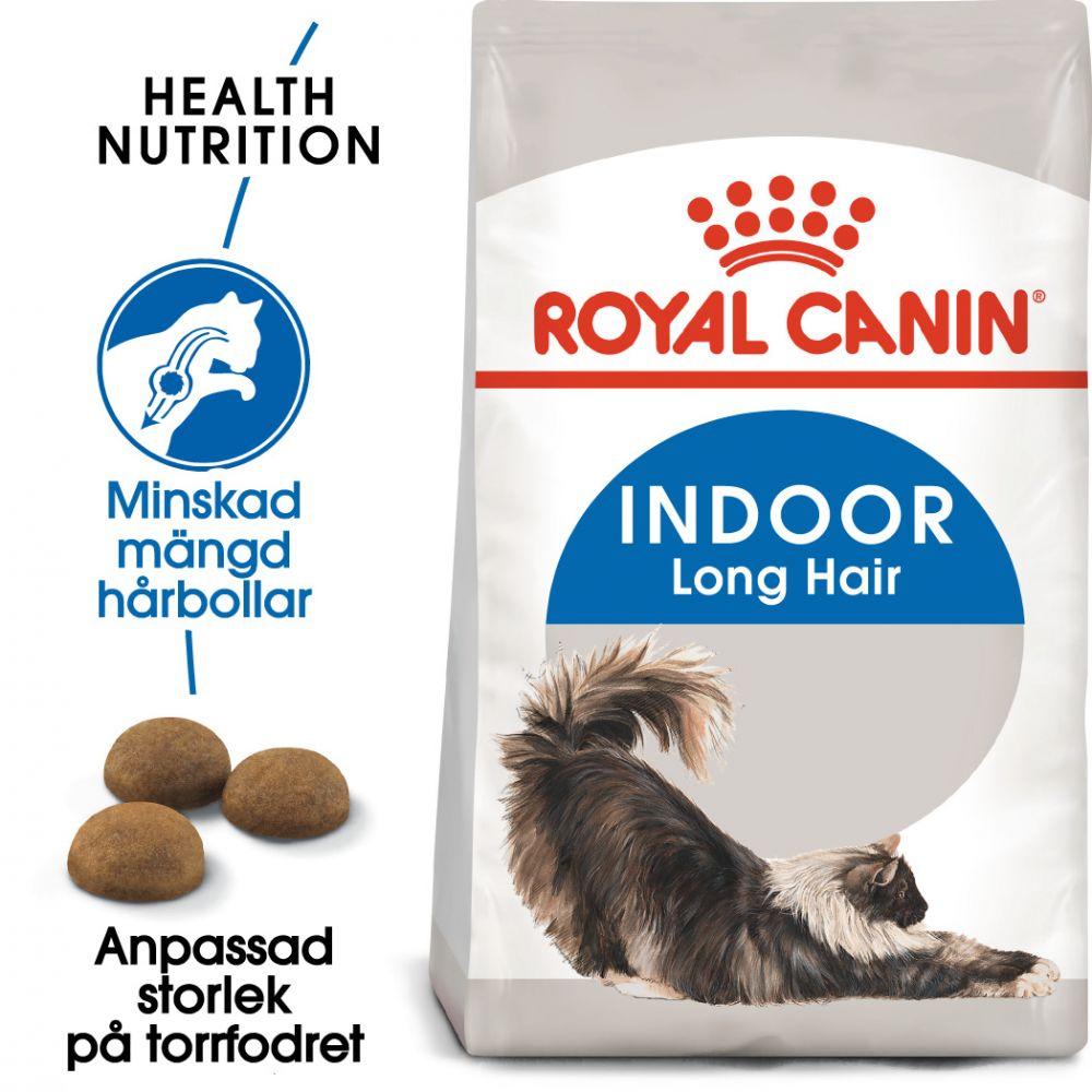 Royal Canin Indoor Long Hair - Ekonomipack: 2 x 10 kg