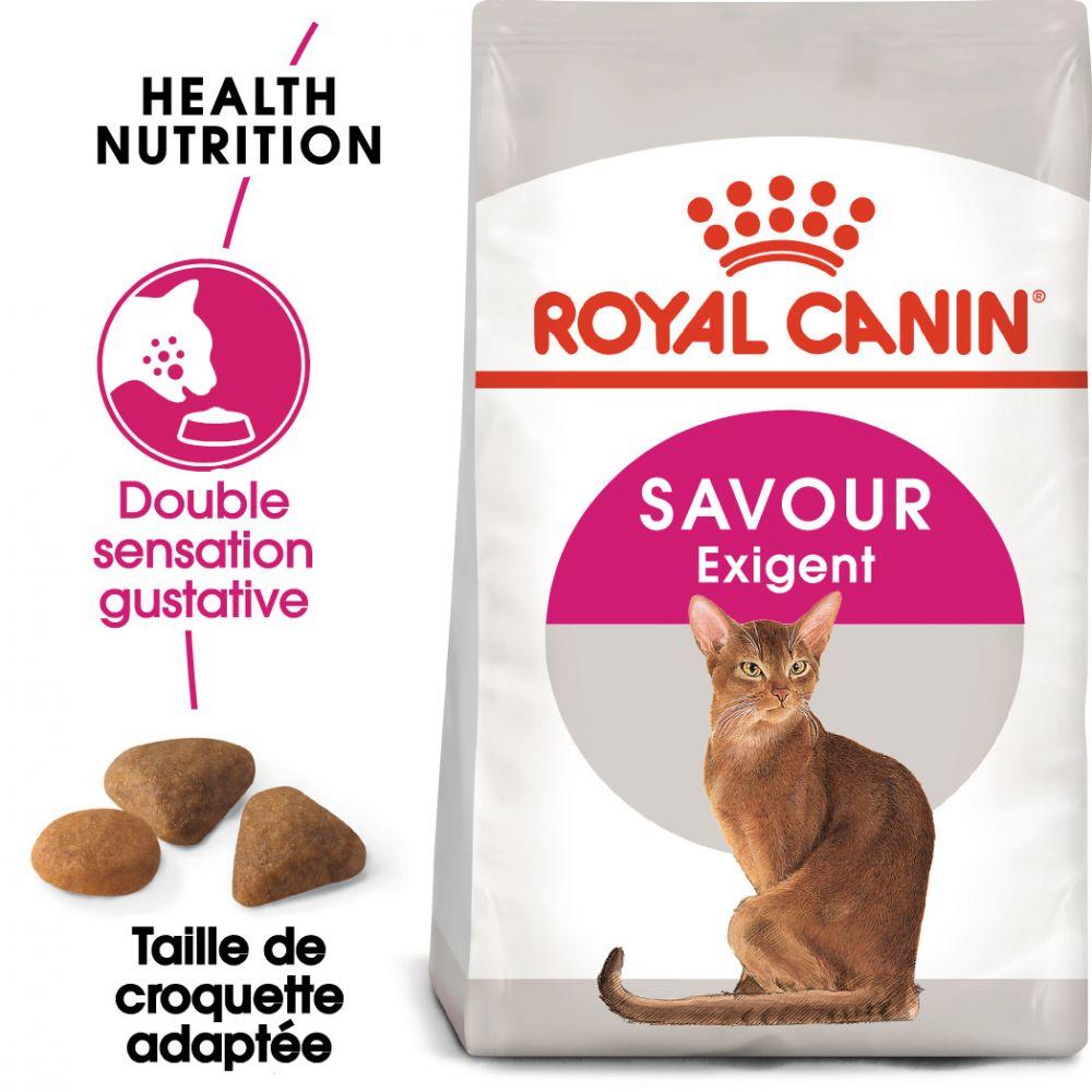 400g Savour Exigent difficile Royal Canin - Croquettes pour Chat