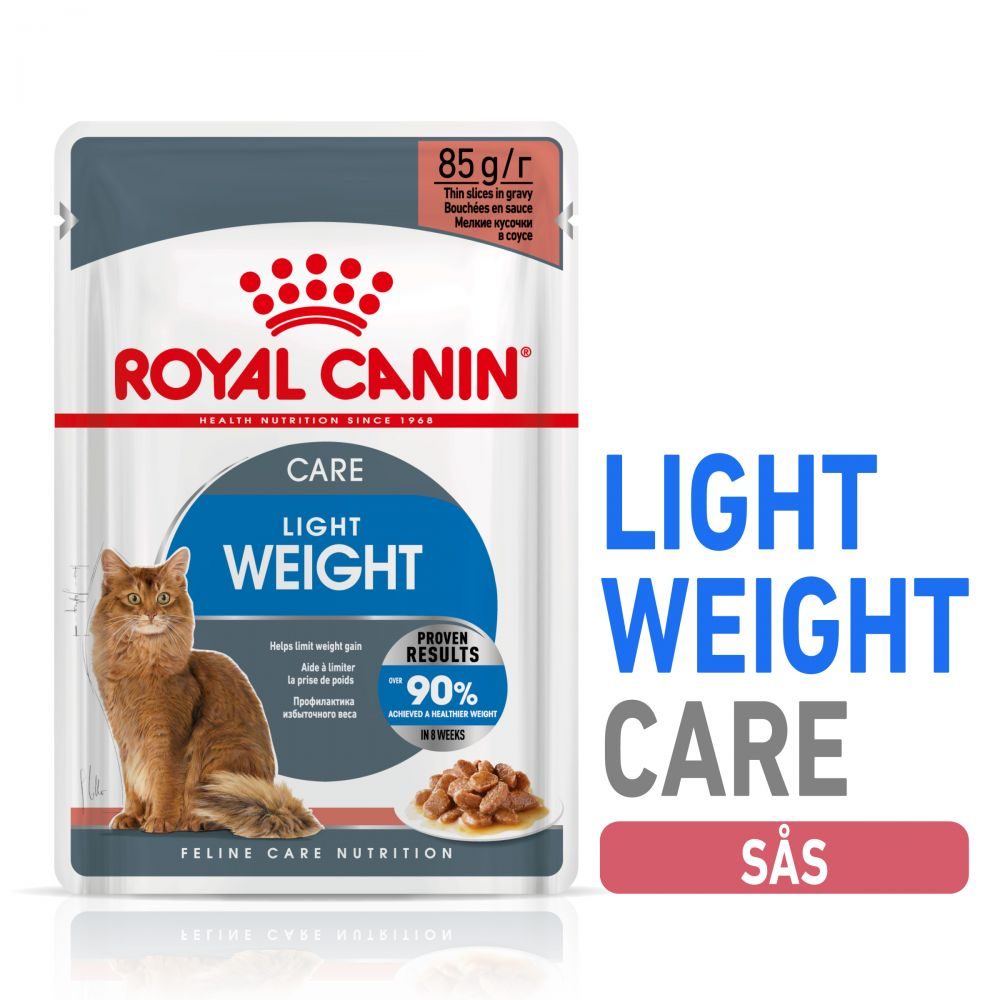 Royal Canin Light Weight Care i sås 12 x 85 g