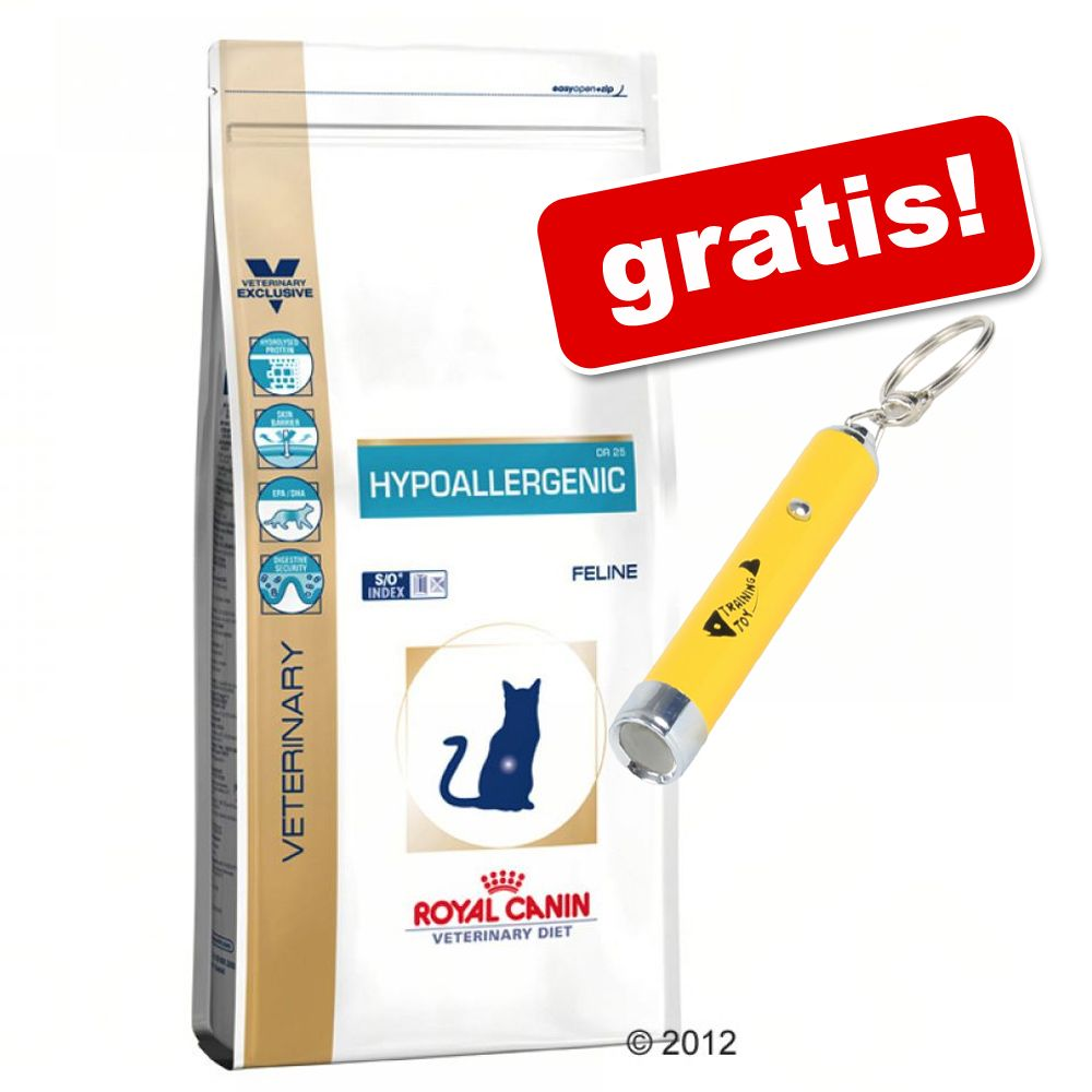 Royal Canin Veterinary Diet + LED-pekare Catch the Light! – Gastro Intestinal S/O GI 32 (4 kg)