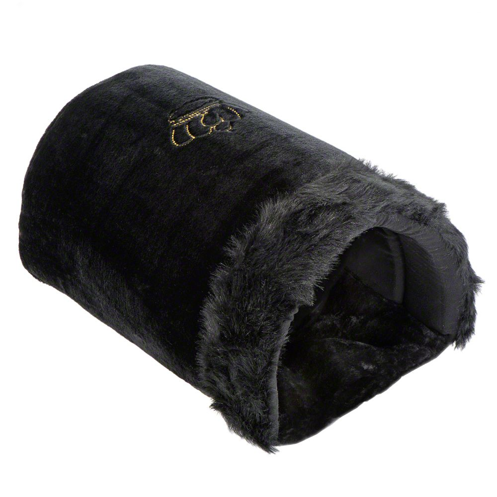 Royal Pet Black XXL gosig sovsäck - L 50 x B 35 x H 28 cm