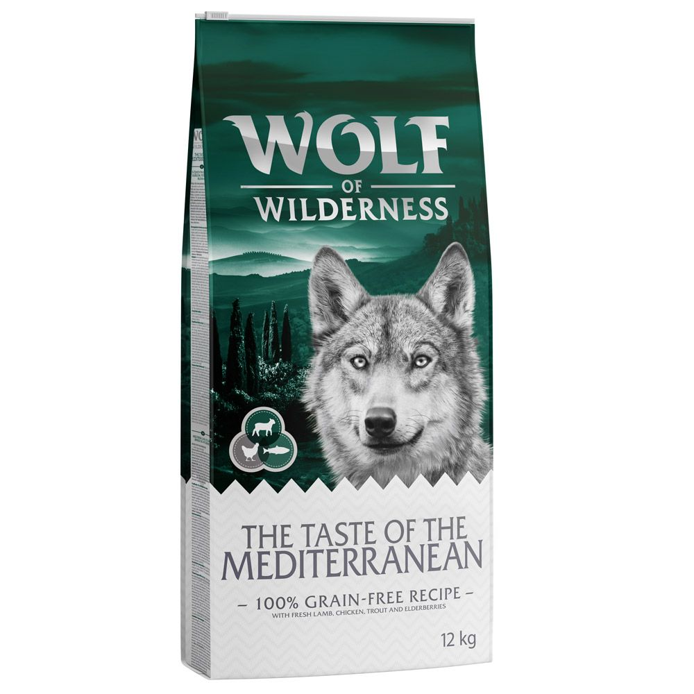 Lamb Taste of Mediterranean Wolf of Wilderness Dry Dog Food