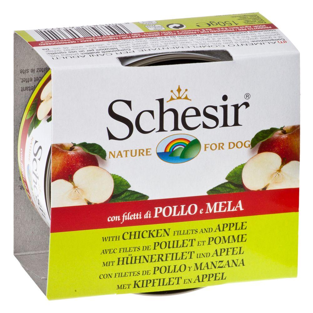 Schesir Fruit 6 x 150 g - Huhn mit Apfel
