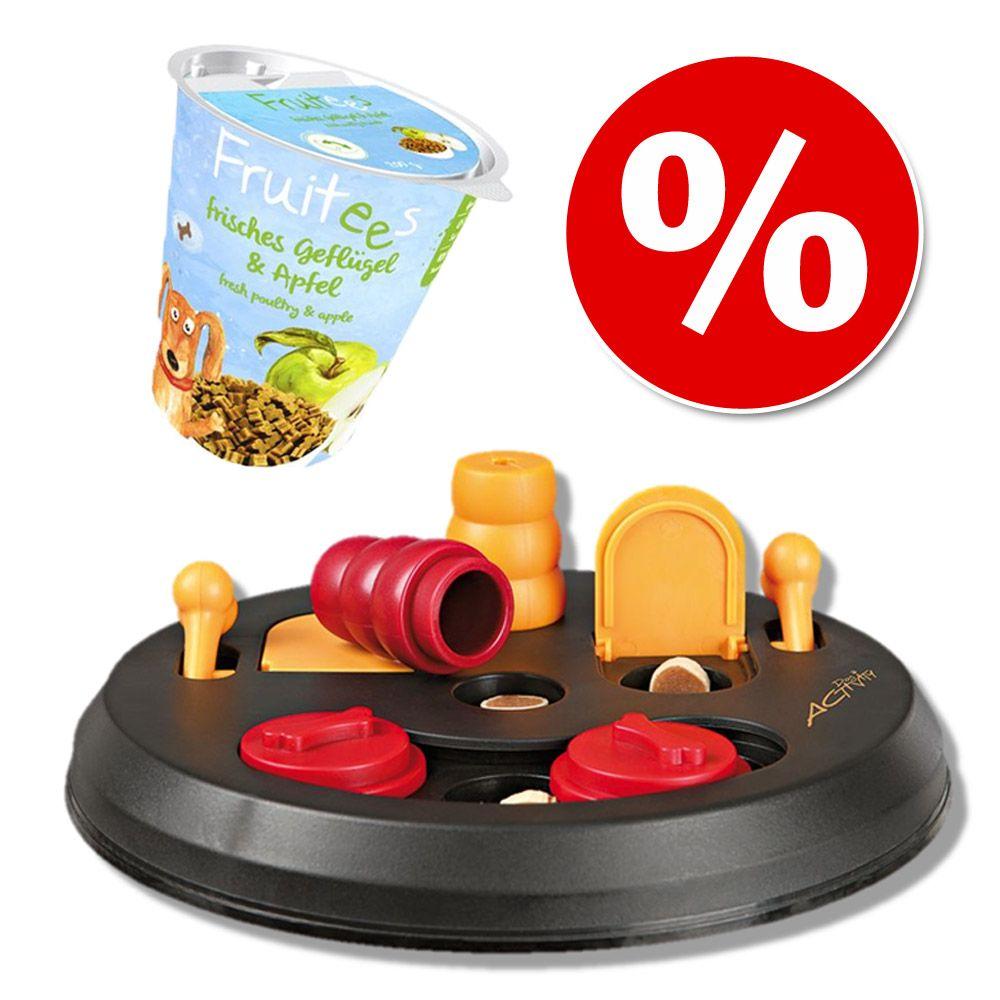 Image of Set addestramento Bosch Fruitees e Trixie Dog Activity Flip Board - flip board e snack Mela (200 g)