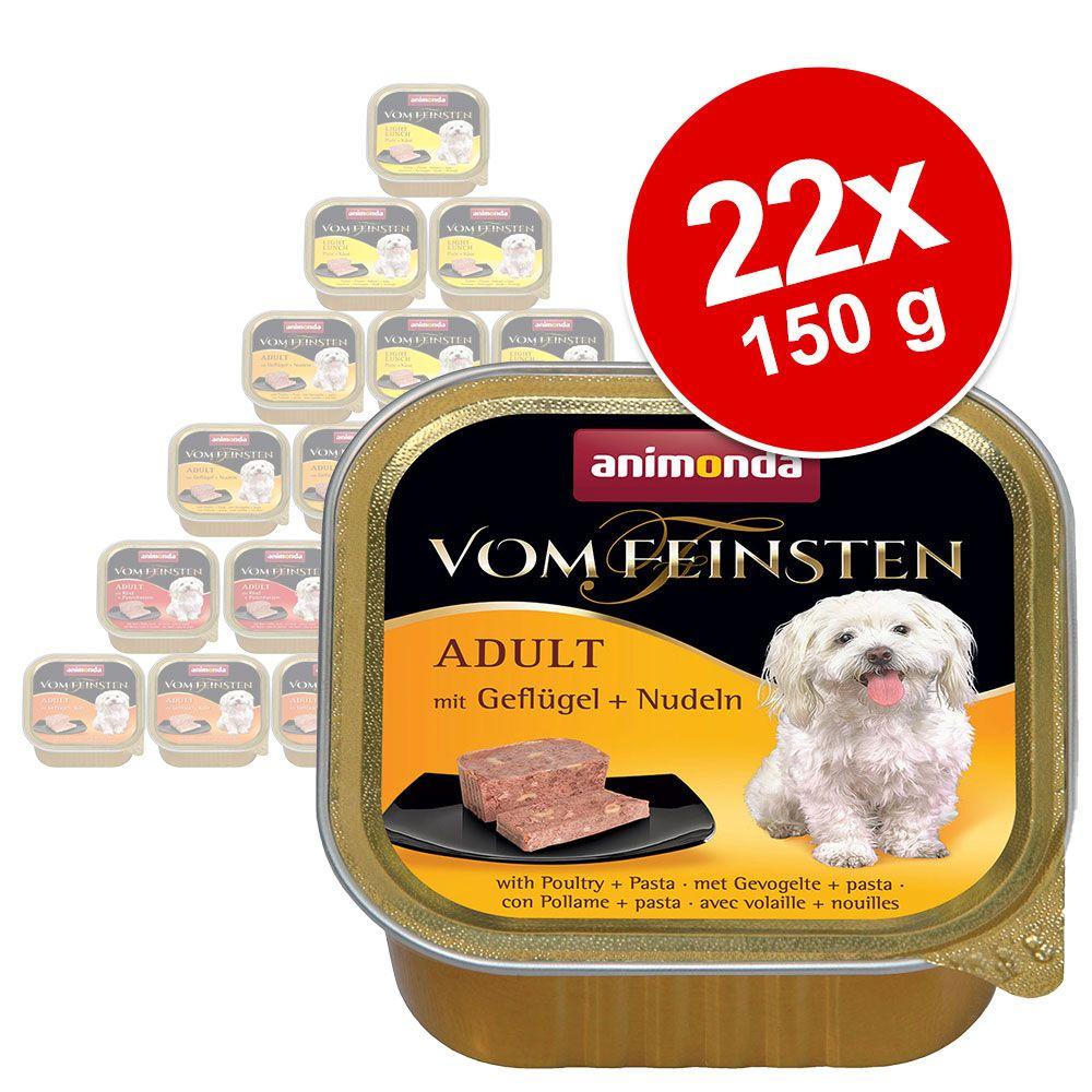 Animonda Vom Feinsten 22 x 150 g Mixpack - Mix 1: 4 Sorten mit Geflügel