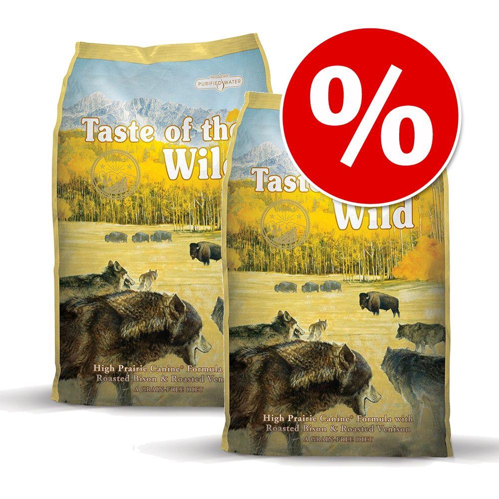 Ekonomipack: 2 x 13 kg Taste of the Wild hundfoder - Wetlands Canine (2 x 13 kg)