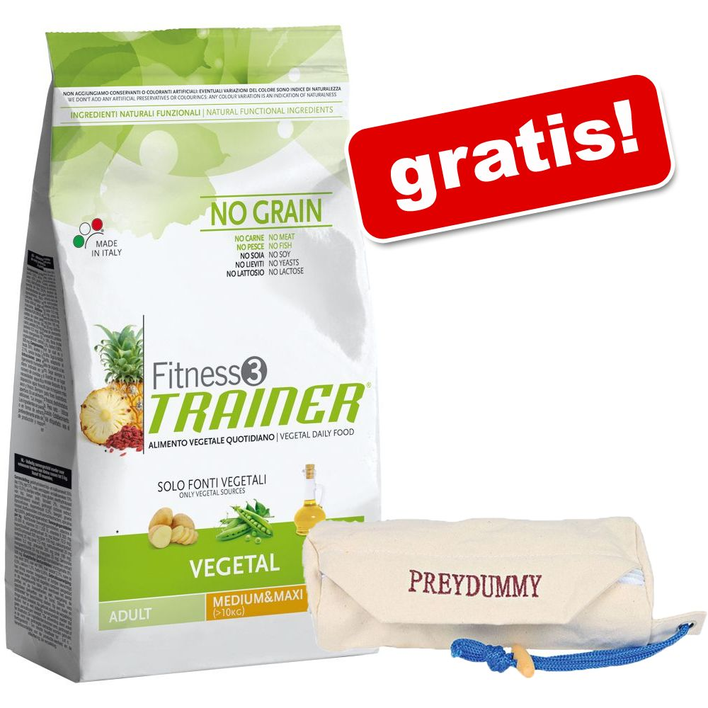 Foto 12,5 kg Trainer Fitness 3 + Preydummy gratis! - Adult Medium/Maxi No Grain Vegetal