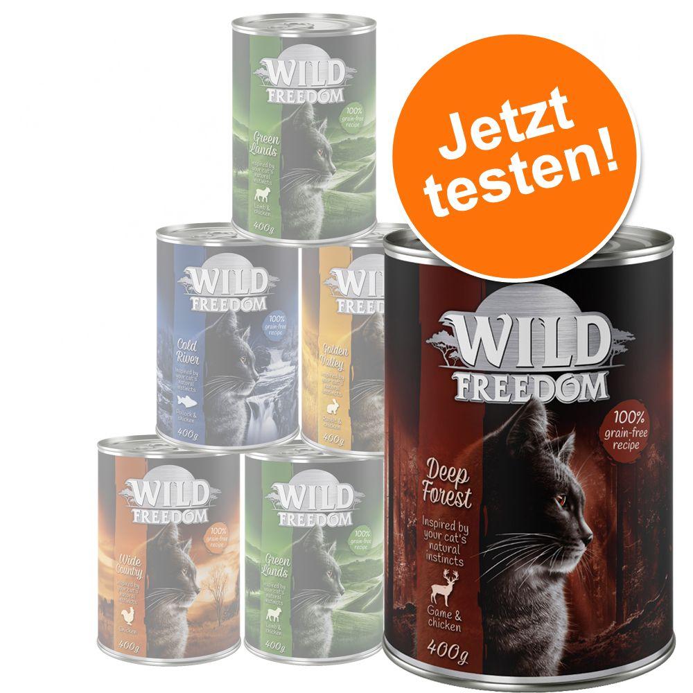 Gemischtes Probierpaket: Wild Freedom Adult - 6...