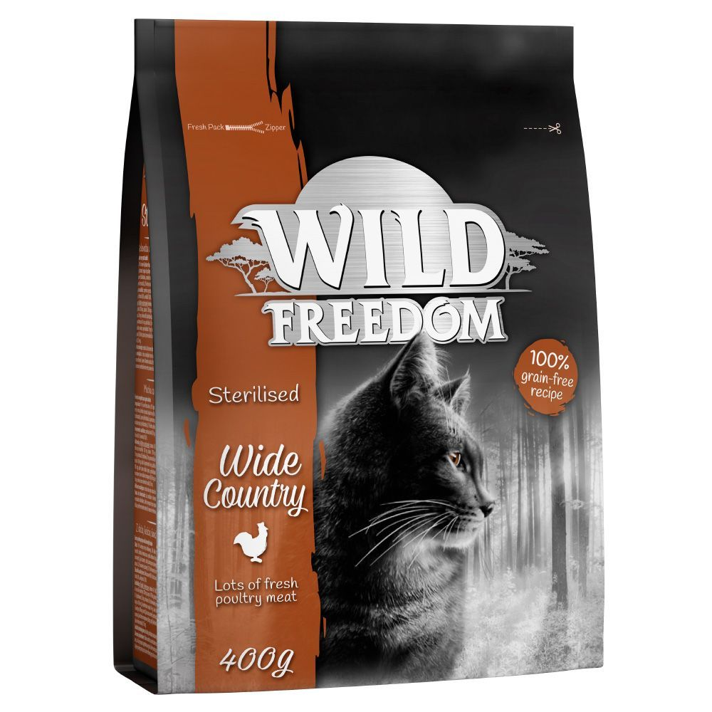 Wild Freedom Adult ''''Wide Country'''' Sterilised - Poultry - 2 kg