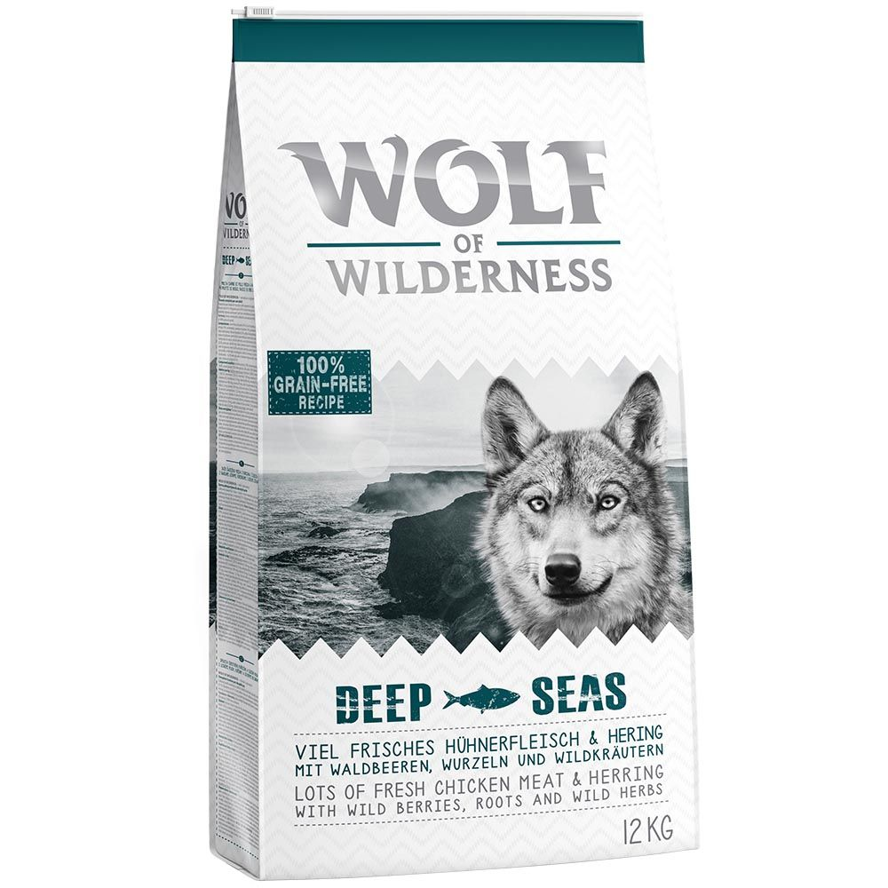 Adult Herring Deep Seas Wolf of Wilderness Dry Dog Food