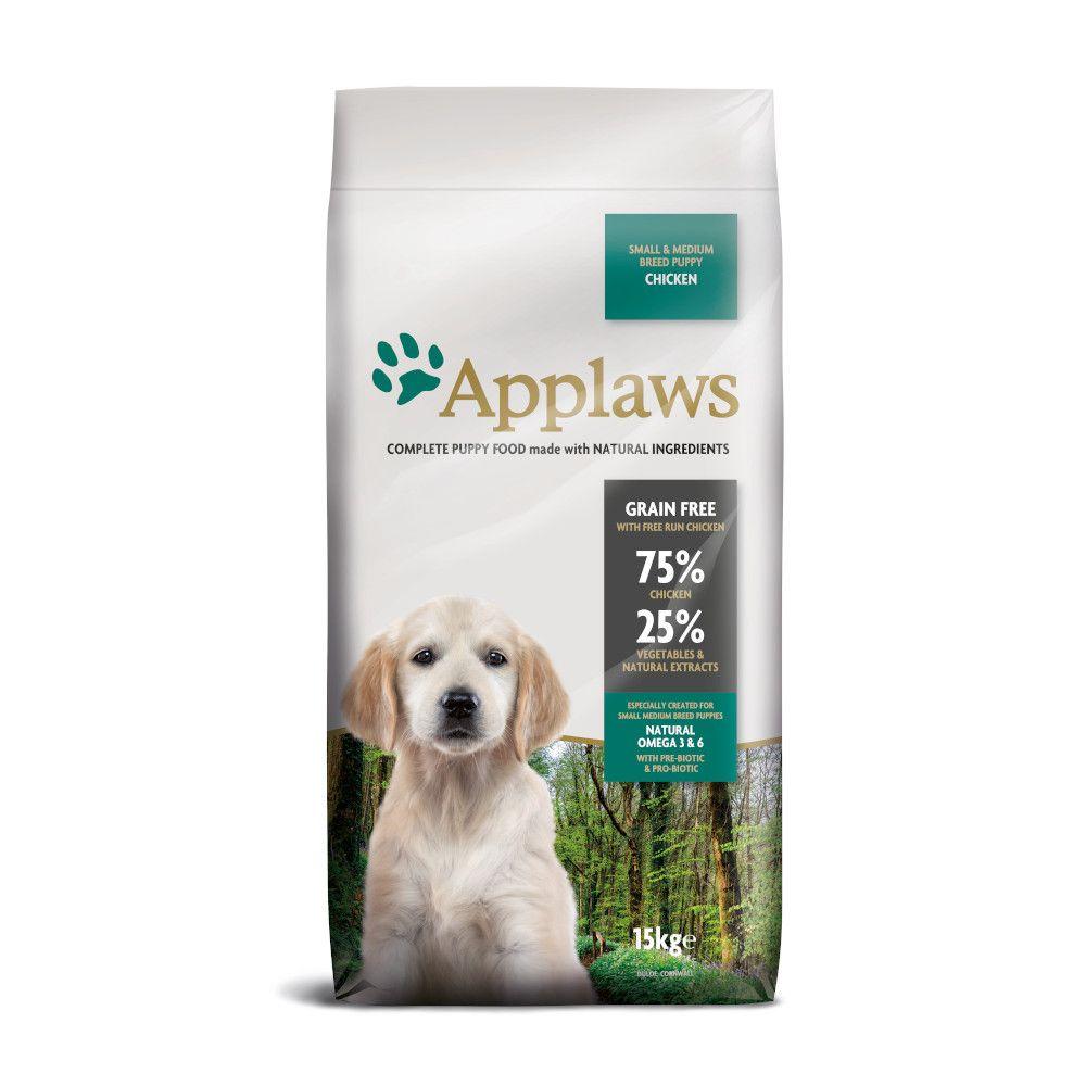 Applaws Puppy Small & Medium Breed - Chicken - 7.5kg