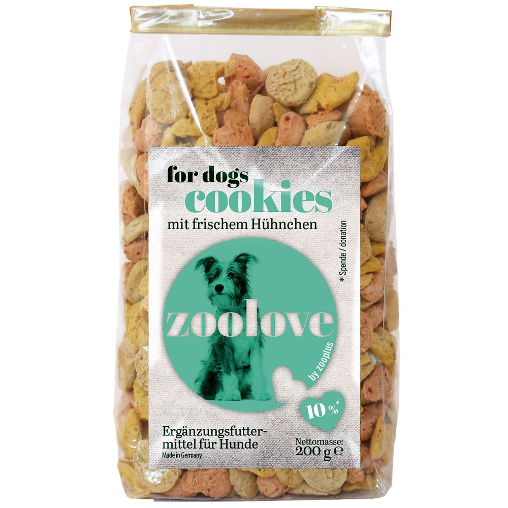 zoolove Dog Treats – Chicken – 200g