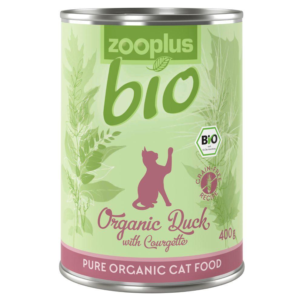 zooplus Bio raca z bučko - 6 x 85 g