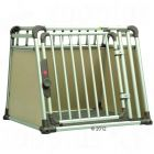 Make sure your dog is safe when travelling in the car with the 4pets Dog Crate ComfortLine four an elegant dog box and the safe and easy way to transport your pet....