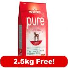 10kg Mera Dog Dry Dog Food + 2.5kg Free! - Care High Premium Reference (12.5kg)