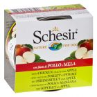 INOpets.com Anything for Pets Parents & Their Pets Schesir Fruit 6 x 150g - Chicken with Apple