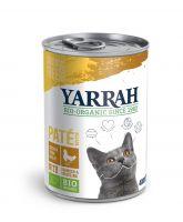 Yarrah biologisch kattenvoer paté 1 x 400 g Vis