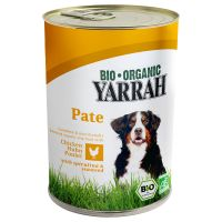 Yarrah Organic Pate Chicken with Spirulina & Seaweed in Sauce - Saver Pack: 24 x 400g