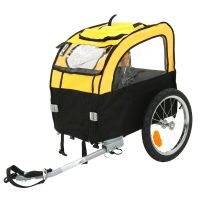 Mini Bee Dog Bike Trailer - 105 x 58 x 73 cm (L x W x H)