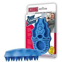 Spazzola-massaggio kong dog zoom groom - - blu.