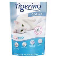 Tigerino Crystals Fresh Klonterende Kattenbakvulling 5 l