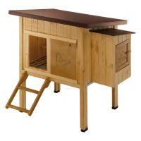 Chicken Coop Hen House - 124 x 98 x 121 cm (L x W x H)