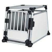 Trixie Aluminium Dog Crate - Size S: 55 x 78 x 62 cm (L x W x H)