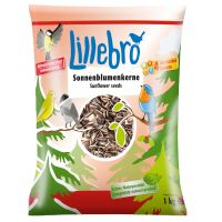 Lillebro Sunflower Seeds for Wild Birds - Economy Pack: 3 x 1kg