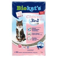8l Biokats Classic Fresh 3in1 Cat litter + 2l Free!* - Cotton Blossom Scent (10 litre)