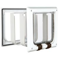 Freecat de Luxe Trixie Cat Flap - Tunnel Extension (White)