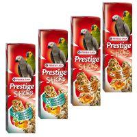 Prestige Sticks for Parrots Mixed Pack - 4 x 2 Sticks (560g)